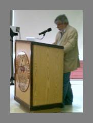 Gary Gutiérrez se dirige a Asamblea Coalición Contra Pena Muerte