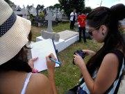 La inención de los estudiantes de la Inter de Ponce es destacar la importancia de Santurce como centro de producción cultural