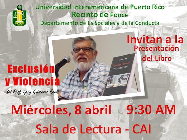 Cartel de Presentación UIPR-Ponce