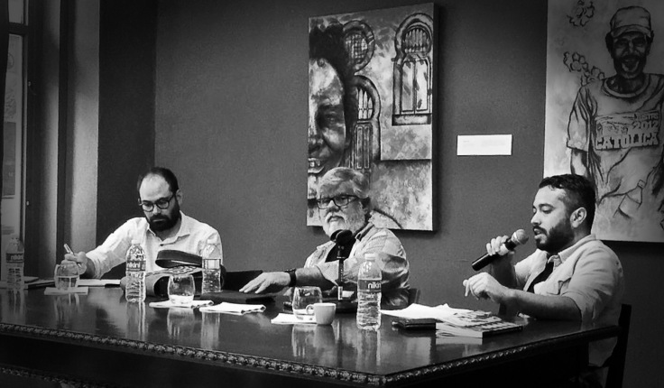 Izq. José Atiles Osoria, Gary Gutiérrez y Cesar Pérez Luizasuain Foto José Raúl Cepeda